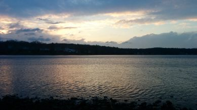 Lower Mystic Lake at Dusk 2