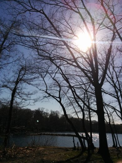Lower Mystic Lake in the Afternoon 1