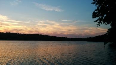 Upper Mystic Lake at Dusk 1b
