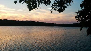 Upper Mystic Lake at Dusk 1c