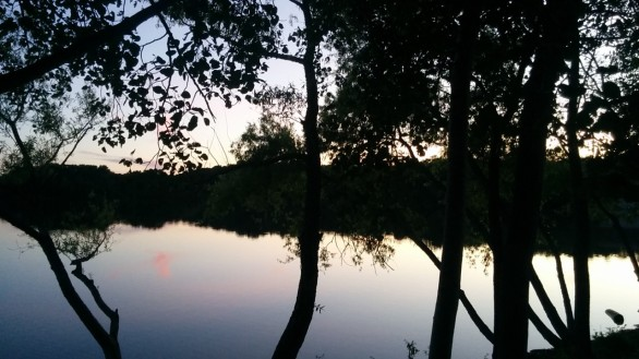 Dusk at Spy Pond 2