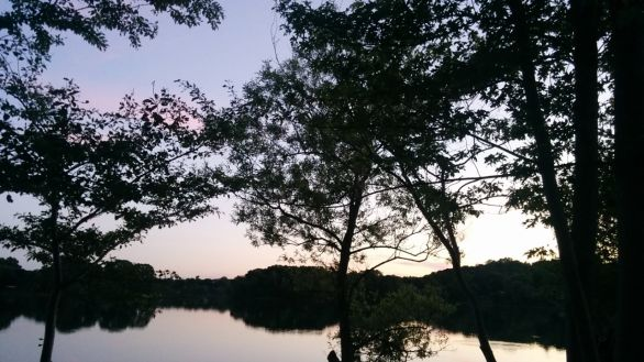 Dusk at Spy Pond 1