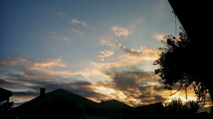 Suburban Twilight, 7:12 PM
