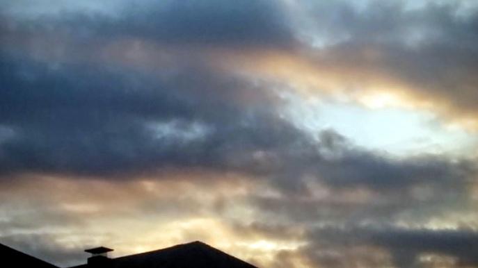 Suburban Twilight, 7:14 PM