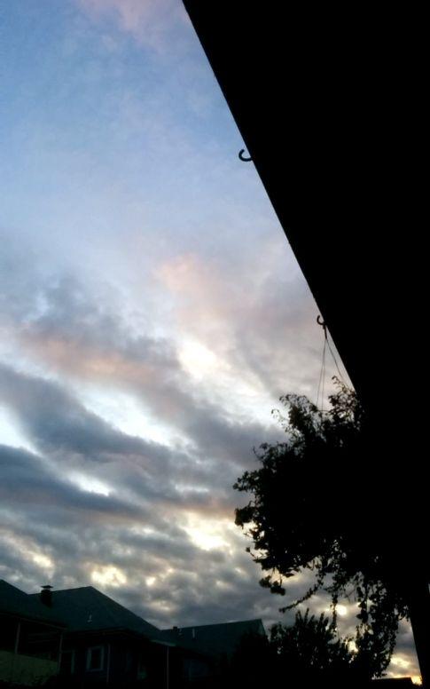 Suburban Twilight, 7:18 PM