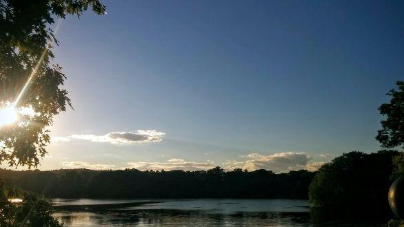 Upper Mystic Lake in Summer 2b