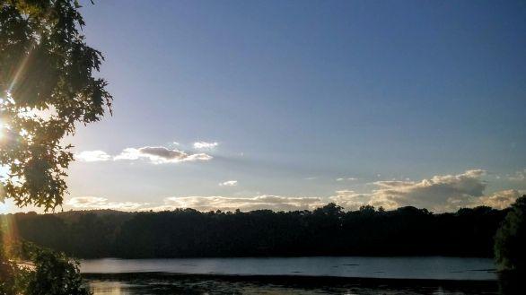 Upper Mystic Lake in Summer 2a