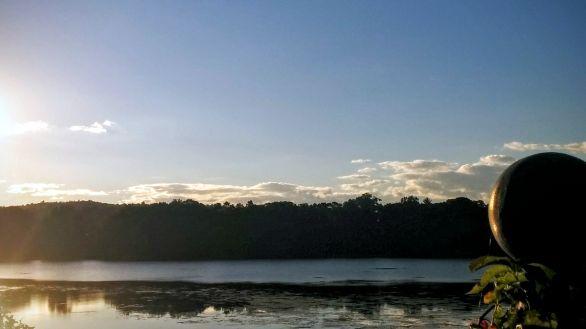 Upper Mystic Lake in Summer 1a