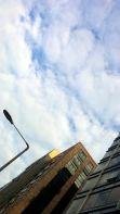 Streetlight Between Buildings 4