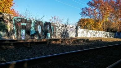 Tracks and Graffiti 1