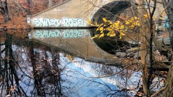 Graffiti on Mystic River 2