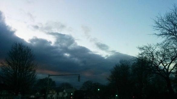 Sky at Rush Hour 2