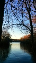 River Flows while Autumn Ends 6