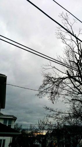 Suburban Clouds at Dusk 4