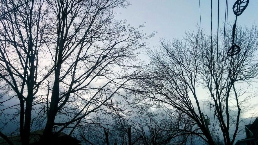 Suburban Clouds at Dusk 5