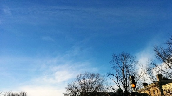 Traffic Light under Cirrus Clouds 2