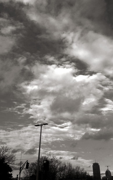 Clouds and the City 1 (Uncolored)