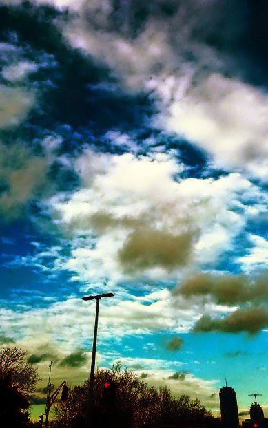 Clouds and the City 1 (Surreal)