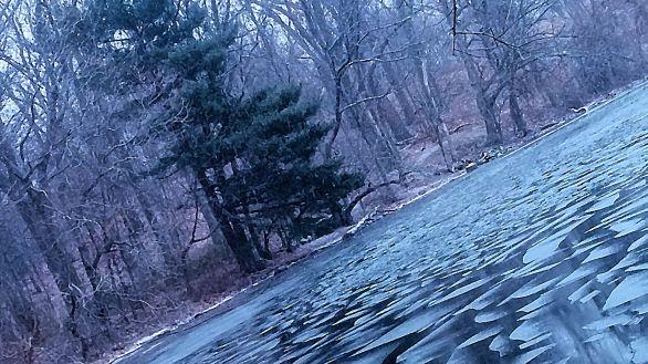 Lake Corner in Winter 2a