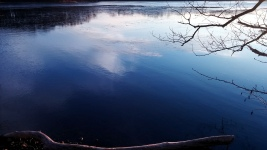 Reflection in Icy Lake 6b