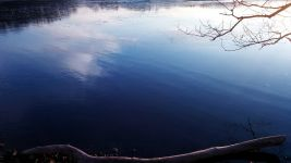 Reflection in Icy Lake 6a