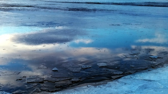 Reflection in Icy Lake 2