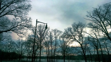 Lampposts by the Lake 2