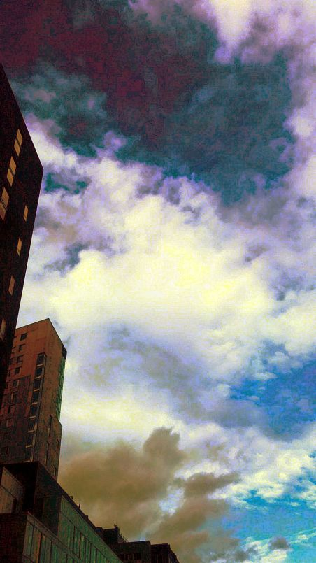 Clouds and Structures 1 (Surreal)