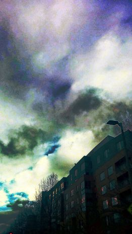 Clouds and Structures 4 (Surreal)