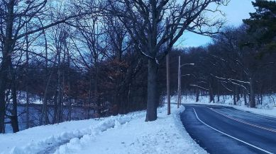 Mystic Valley Parkway and Mystic River Path (Winter) 3