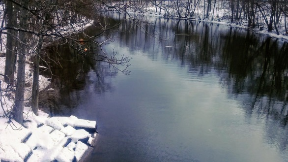 Mystic River on a Winter Afternoon 1a