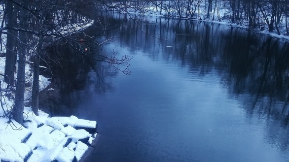 Mystic River on a Winter Afternoon 1b