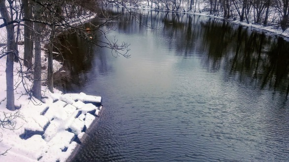 Mystic River on a Winter Afternoon 2a