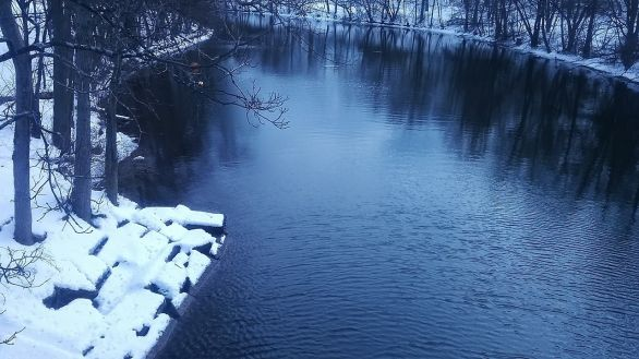 Mystic River on a Winter Afternoon 2b