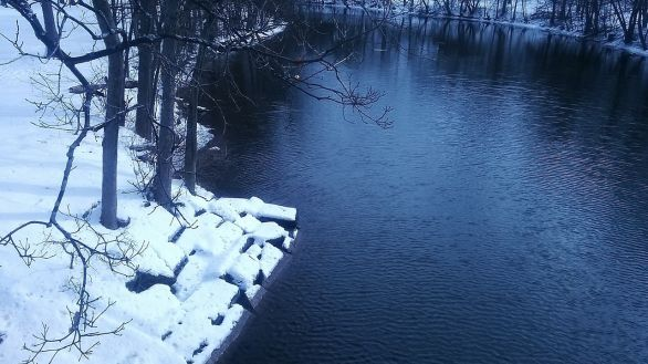 Mystic River on a Winter Afternoon 3b