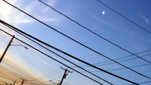 Lines and the Moon 1